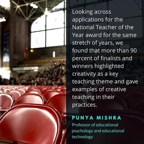 5 Habits of Creative Teachers - InformED   Resources for Teachers   Scoop.it