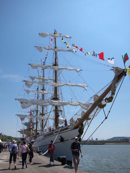 Escale à l'Armada de Rouen (1)   Bateaux et Histoire   Scoop.it