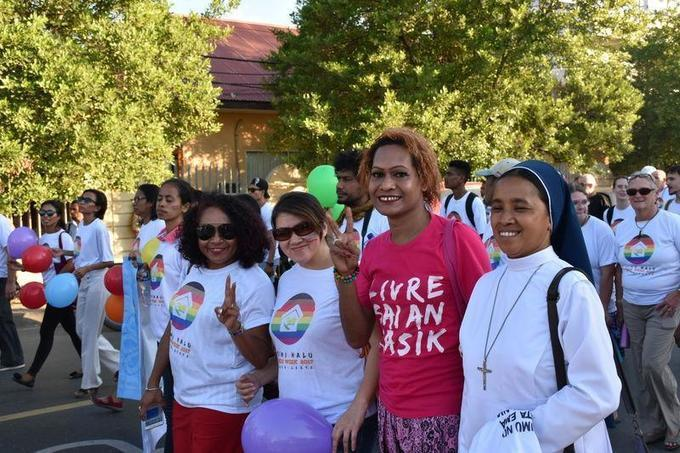 Asia's youngest nation offers glimmer of hope for LGBT rights