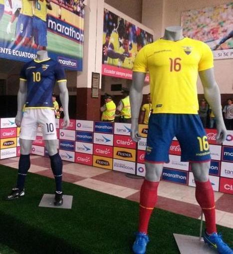 01e935861 New Ecuador Jerseys 2015-2016- Marathon Ecuador Shirts 2016 Home Away