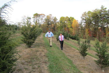 Day one on the dean's tour: Mills River | CALS News Center | News from the College of Agriculture and Life Sciences, NCSU | Research from the NC Agricultural Research Service | Scoop.it