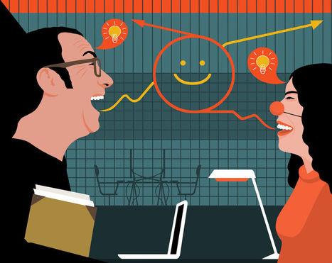 Rire plus pour travailler mieux? | Equipes, Comités, Conseils :  créativité, animations, productions...? | Scoop.it