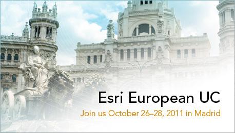 ArcGIS Desktop Blog : Esri European User Conference 2011   Geospatial   Scoop.it