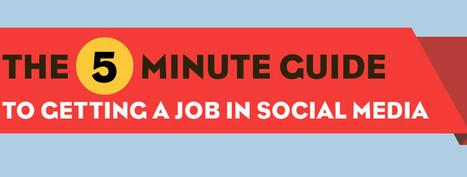 How to Get a Social Media Job - Social Media London   Personally Branding Your Career   Scoop.it
