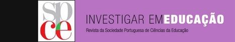 Formação contínua na área das TIC em Portugal. Quem são os Formadores e que perspetivas têm sobre a integração das tecnologias no currículo? | Felizardo | Investigar em Educação | As tecnologias na educação | Scoop.it