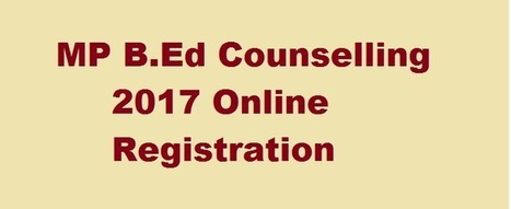 MP B.Ed Counselling Application Form 2017-18 - ... B Ed Application Form In Mp on