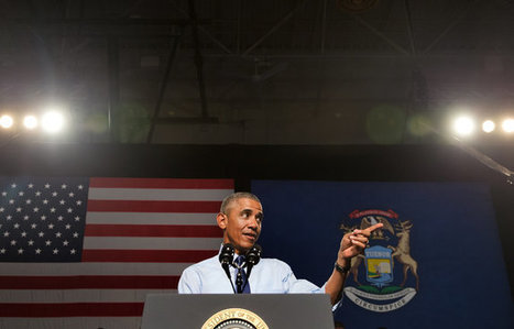 Obama Promotes College Affordability Plan on Michigan Trip | Current Political Climate in US | Scoop.it