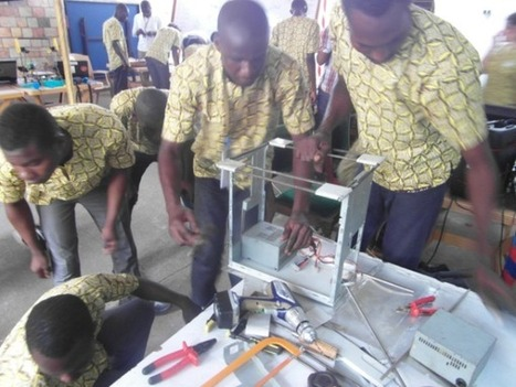 """Made in Africa with e-waste"" 3D printer campaign 