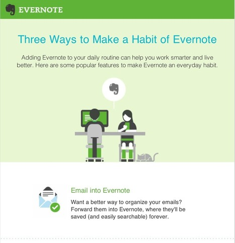 Three Good Ways to Be Productive With Evernote ~ Educational Technology and Mobile Learning | Library curating | Scoop.it