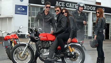 Video:  With the Continental GT, Royal Enfield is Really Trying | Heron | Scoop.it