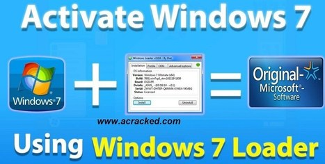 Windows 7 Loader Activator crack' in software | Scoop it