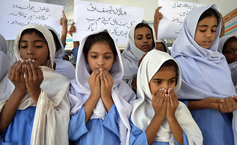 Standing up for Pakistani school girl shot by Taliban   Women and Terrorism.   Scoop.it