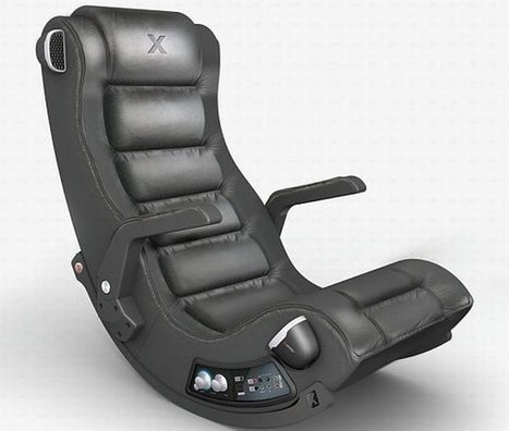Ace Bayou's Game Chair Rocks, Literally | All Geeks | Scoop.it