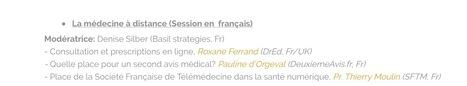 Médecine à distance, 1 de 20 sessions de jour 1 de Doctors 2.0 & You #doctors20 #Hcsmeufr | Médecins & Patients 2.0 | Scoop.it