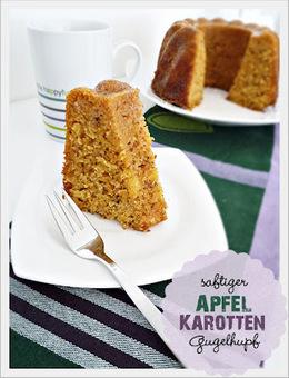 Genusskochen: Saftiger Apfel-Karotten Gugelhupf   Brownies, Muffins, Cheesecake & andere Leckereien   Scoop.it