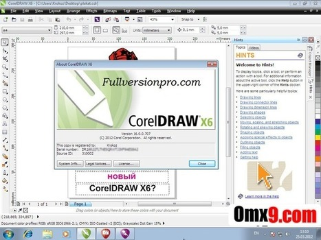 corel draw x6 keygen free download with crack