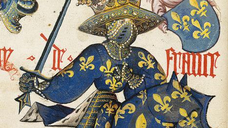 Le Grand Armorial équestre de la Toison d'or   Monde médiéval   Scoop.it