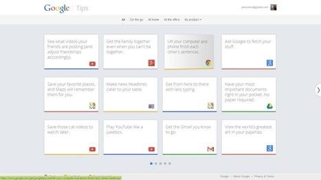 Google Tips: Tipps & Tricks rund um die beliebtesten Google-Services - GWB | Zentrum für multimediales Lehren und Lernen (LLZ) | Scoop.it