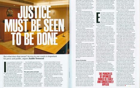What does open justice actually mean?   The Transparency Project   Children In Law   Scoop.it