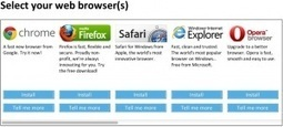 Microsoft Forgets To Offer Browser Choice Screen To 28M Users, EU Opens Investigation | TechCrunch | Lectures web | Scoop.it