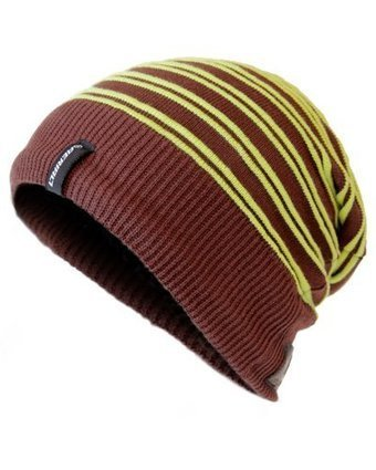 407210b7456 AERIAL7 WHISTLER Sound Disk Winter Sports Beanie Headset with Built-In  Headphones and Mic (Brown Lime) Aerial 7 60970