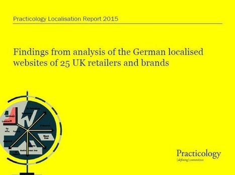 Localisation Report ranks the German localised sites of 25 UK retailers | Translation and Localization | Scoop.it