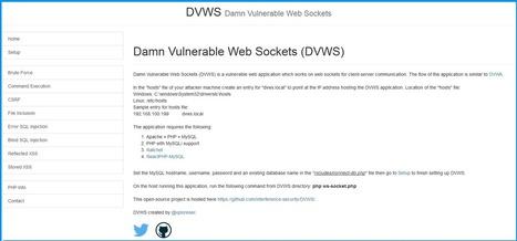Damn Vulnerable Web Sockets DVWS | d@n3n | Sco