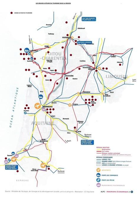 Les Grands Acteurs du Tourisme de la nouvelle région à Bordeaux | TourismeActus | Scoop.it