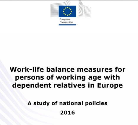 Report on work-life balance of working-age carers   Worplace health promotion   Scoop.it