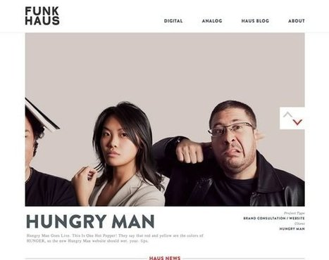 21 Examples of Black, White & Grey in Web Design | Inspiration | My Checked | Scoop.it