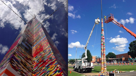 Delaware Students Have Just Built World's Tallest Lego Tower | Avant-garde Art, Design & Rock 'n' Roll | Scoop.it