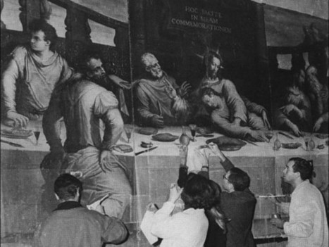Il ritorno a Santa Croce dell'Ultima Cena di Vasari - Firenze | Notizie Francescane conventuali | Scoop.it