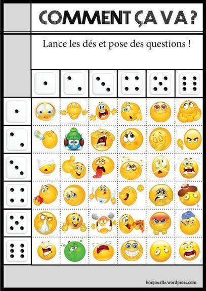 Jeux avec des dés | Free Resources For Teachers of  French | Scoop.it