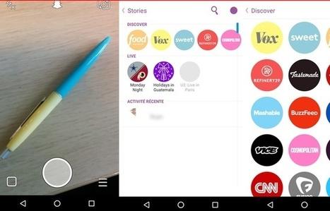Snapchat: Le guide pratique pour les plus de 25 ans | -thécaires... | Avenir des Bibliothèques | Outils de Veille & de Curation | Scoop.it