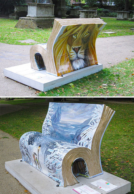15 Most Creative Public Benches | Inspired By Design | Scoop.it
