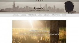 Gumbo - A Powerful Minimalist Free WordPress Theme | Free & Premium WordPress Themes | Scoop.it