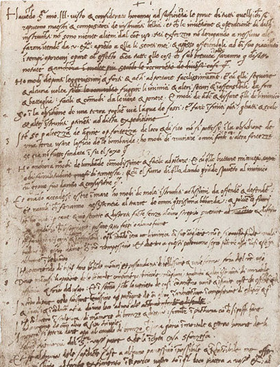 Leonardo da Vinci's Handwritten Resume (1482) | email | Scoop.it