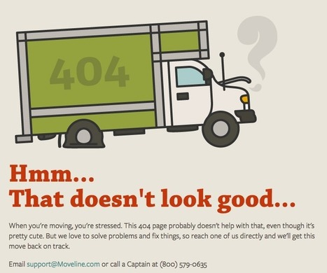 24 Clever 404 Error Pages From Real Websites | Ultimate Empire Ave. Allstars | Scoop.it