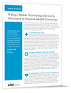 Mobile technology helps improve health outcomes | Mobile Technology in Health Care | Scoop.it