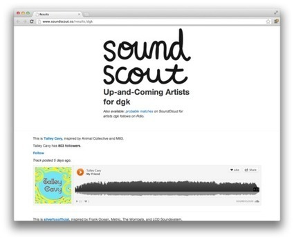 Building SoundScout   Digital Humanities and Linked Data   Scoop.it