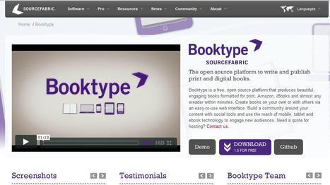 Booktype | Social media kitbag | Scoop.it