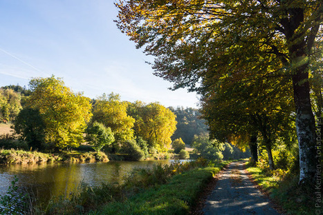 Balade sur le chemin de halage du canal de Nantes à Brest (11 photos) | photo en Bretagne - Finistère | Scoop.it