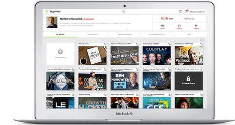 Tagmmer, la gran plataforma visual de almacenamiento ya está disponible para todo el mundo | Ferramentes digitals | Scoop.it