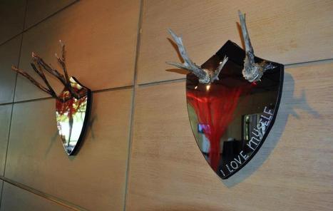 "Wela: mirrors ""I love nature"" & ""I love myself"" | Art Installations, Sculpture, Contemporary Art | Scoop.it"