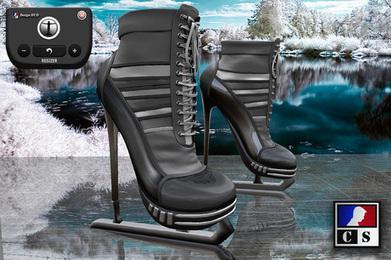 CS Design - Ice Skates M02 Black | Antonio Galvez | Scoop.it