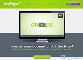 Doctape : un service de stockage en ligne prometteur | Geeks | Scoop.it