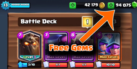 Clash Royale Gems and Gold Generator Online - |