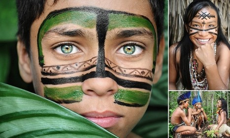 A world away from Rio's beaches: The amazing images of Amazon tribe that you can only get to by boat from city where England will play first World Cup game | IB Part 3: Global Interactions | Scoop.it