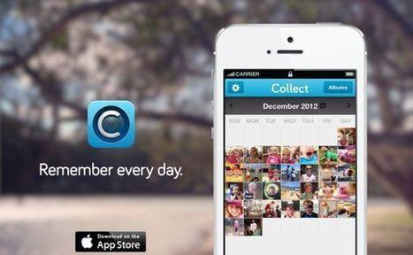 Collect – captura tus mejores momentos y guárdalos en los calendarios de esta aplicación para iOS | iPad classroom | Scoop.it