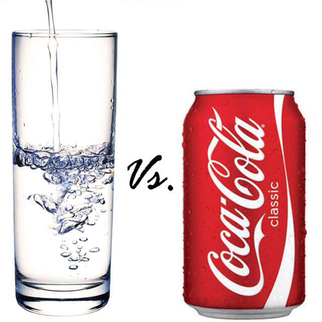 Water Vs. Coke | Health and Wellness | Scoop.it